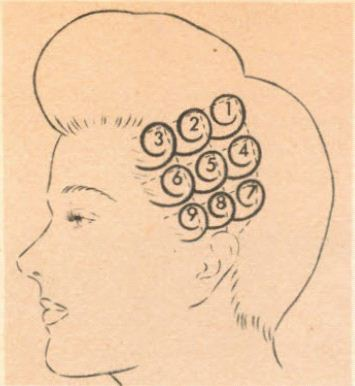 pin curl diagram 2002 dodge dakota wiring vintage hair 1920s 1930s 1940s 1950s 1960s hairstyles made easy