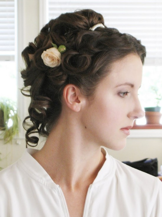 Victorian Wedding Hairstyle Tutorial Reader Request Bobby Pin