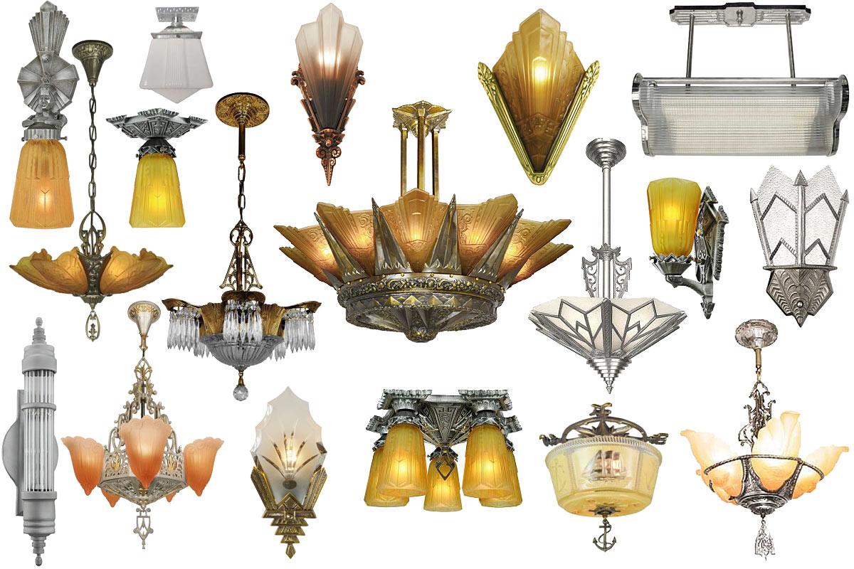 lighting art deco art nouveau
