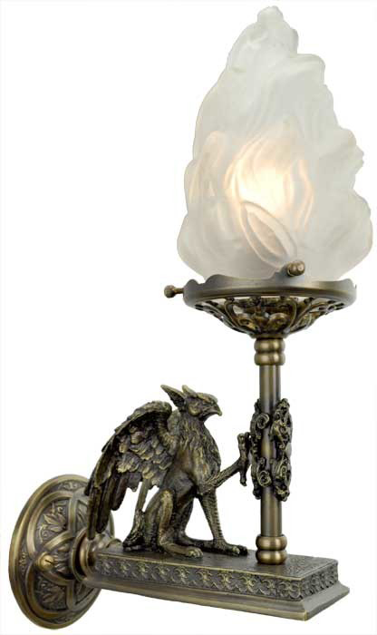 Vintage Hardware  Lighting  Victorian Gothic Figural