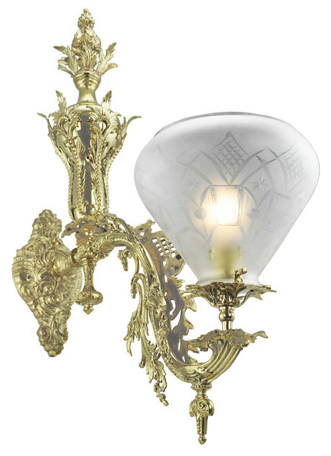 Victorian Wall Sconce Neo Rococo StarrFellows 1 Arm