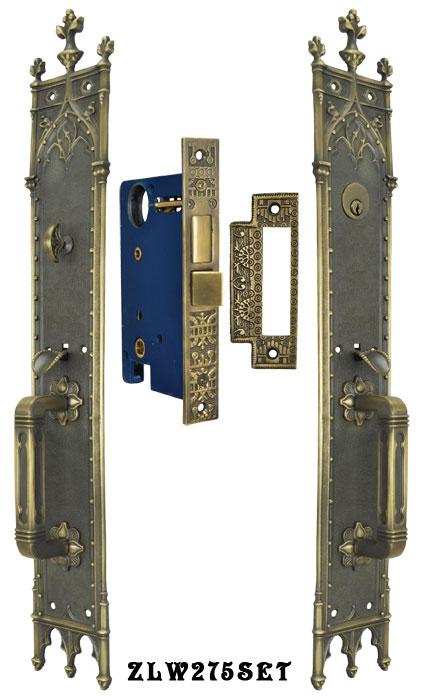 Vintage Hardware  Lighting  Victorian Amiens Gothic