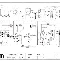 wem copicat ic 300 1979 schematic wiring diagram [ 1170 x 850 Pixel ]