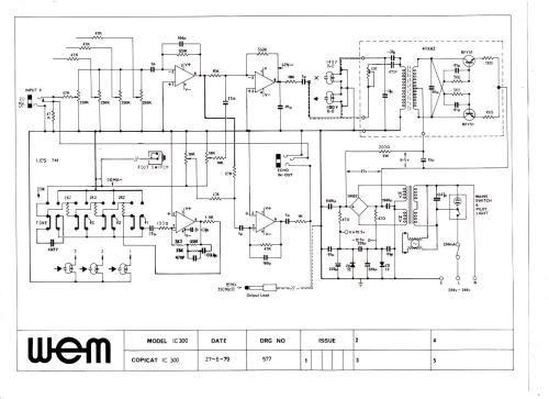 small resolution of wem copicat ic 300 1979 schematic wiring diagram