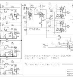 selmer pa 100 amplifier schematicreturn to selmer amplifiers wiring schematics [ 1200 x 821 Pixel ]