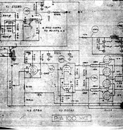 selmer pa 100 mk ii amplifier schematic wiring diagram [ 1166 x 815 Pixel ]
