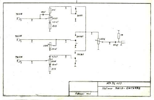 small resolution of hofner model 173 solid guitar february 1965