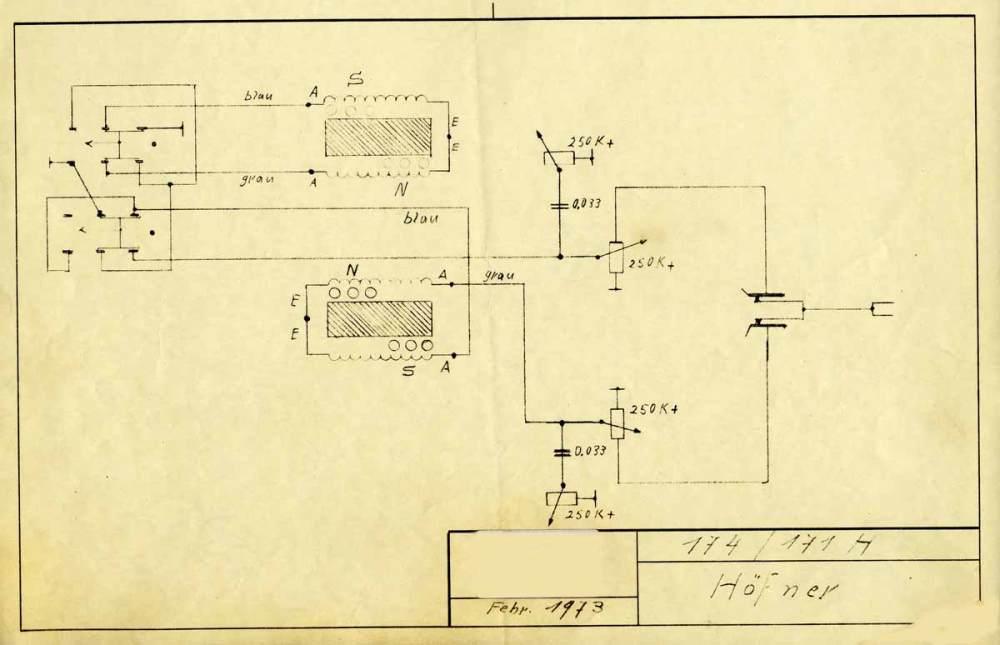 medium resolution of hofner guitar schematic wiring diagrams workshop originals hofner