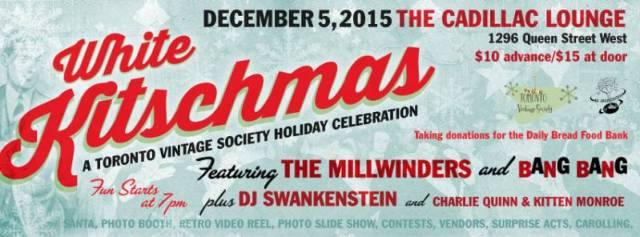 Toronto Vintage Society White Kitschmas Party
