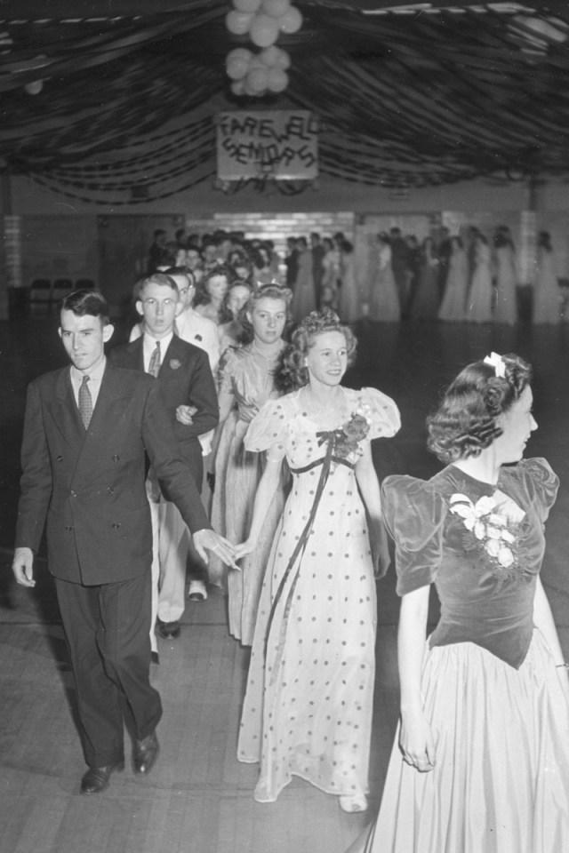 1940s Prom gowns