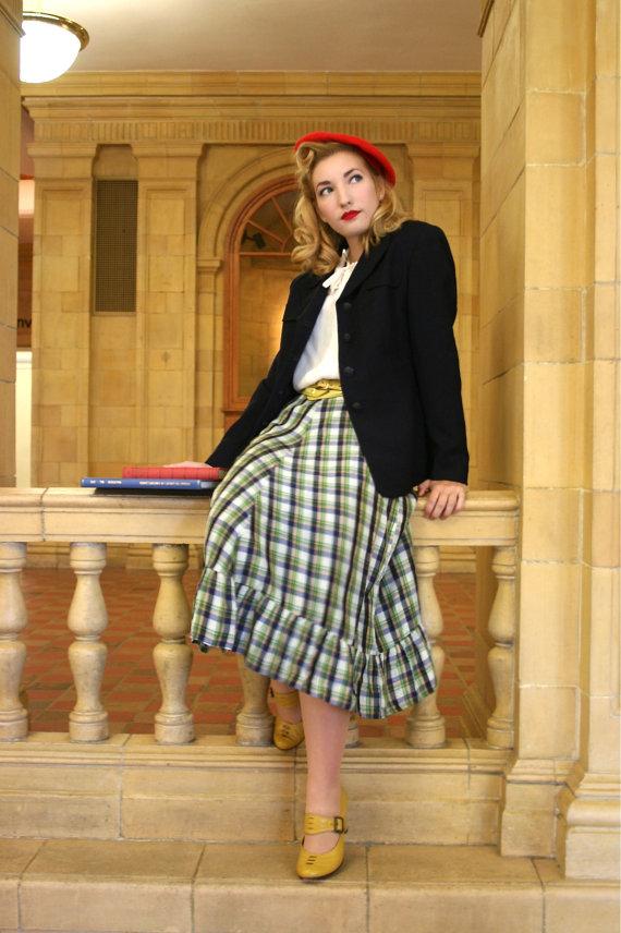1940s vintage skirt
