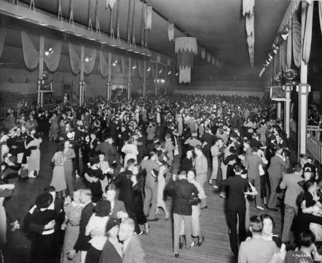 CNE dance pavillion late 1930s