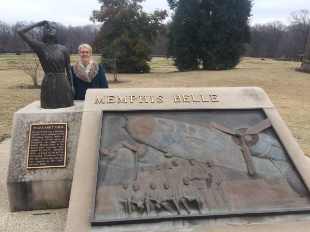 Memphis Belle statue Memphis