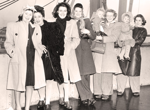 1940s Canadian War Brides Coming Home