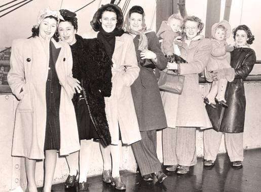 Vintage Images Of 1940s Canadian War Brides
