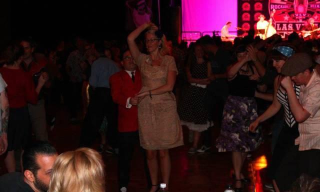 Viva Las Vegas 17 dance floor