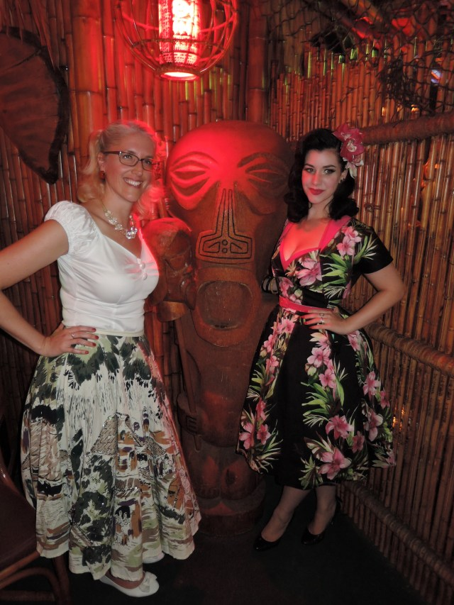 Frankie's Tiki Room with Miss Victory Violet