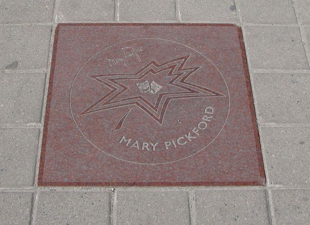 Pickford's star on Canada's Walk of Fame in Toronto, Ontario