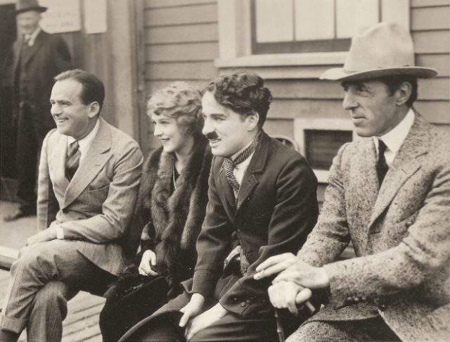 D.W. Griffith, Charlie Chaplin, and Douglas Fairbanks to create United Artists