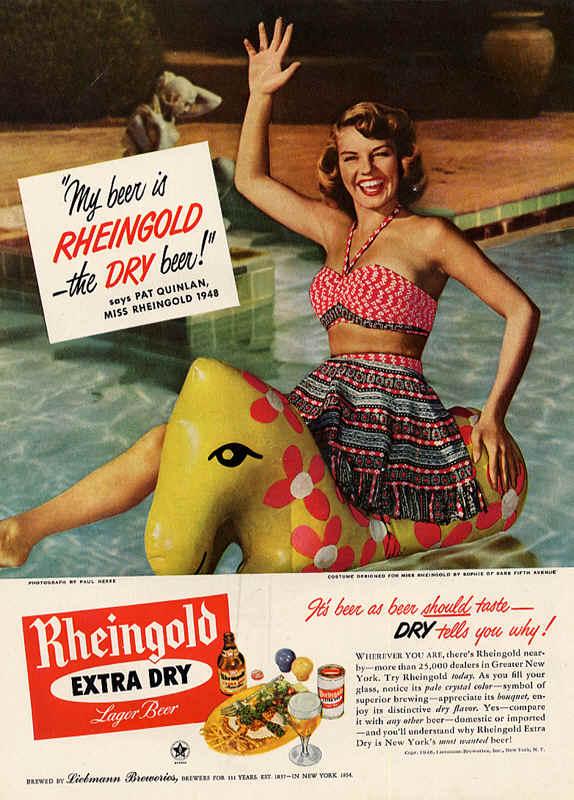 rheingold vintage advertising