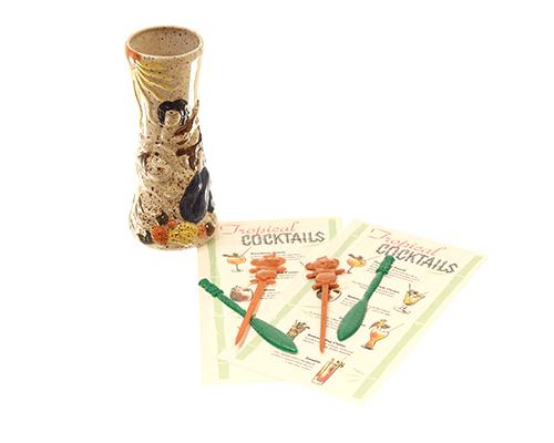 trader Vic cocktail set