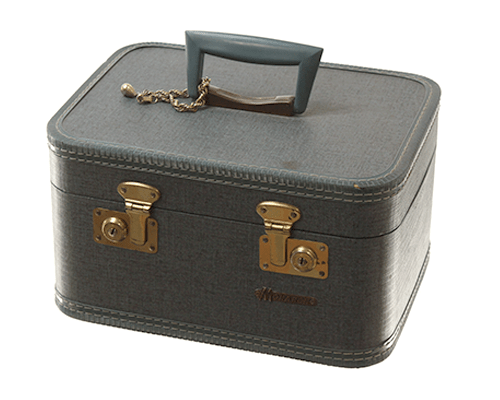 vintage monarch travel case
