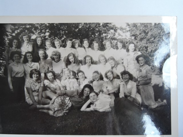 1940s girls at summer camp