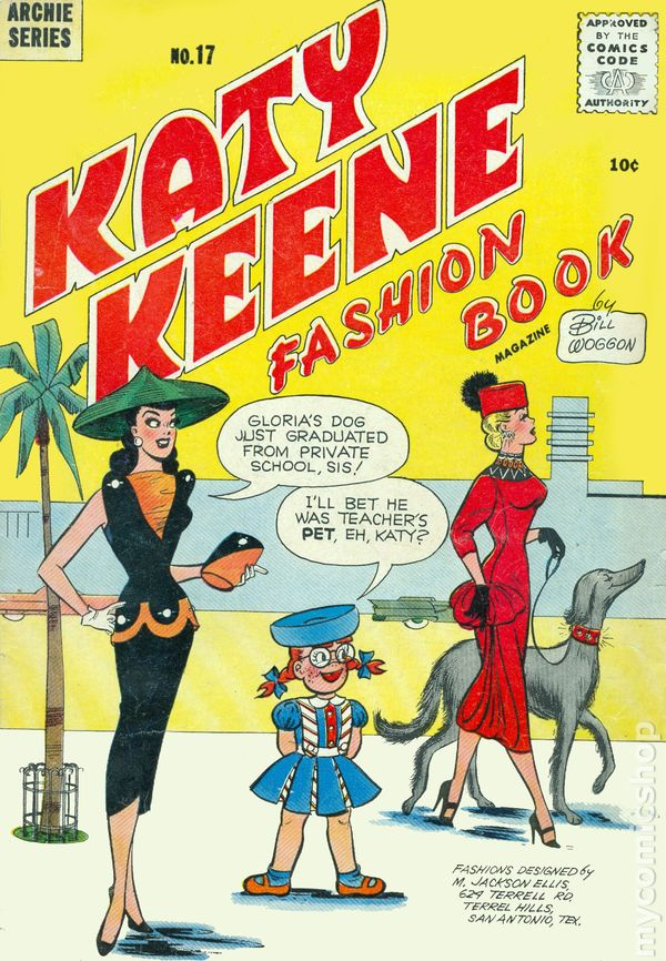 Katy Keene comic book