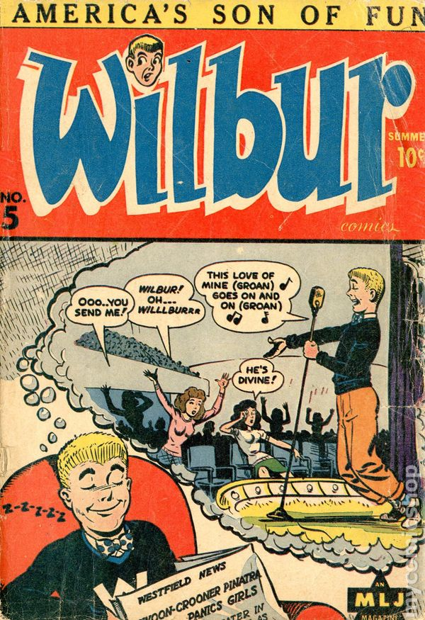 Wilbur comic book