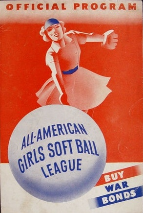 all american girls profesionall baseball league official poster