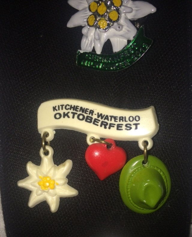 oktoberfest hat pins vintage