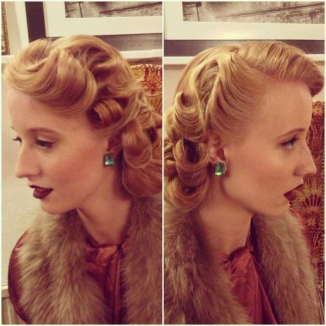 vintage 1930s hairstyle