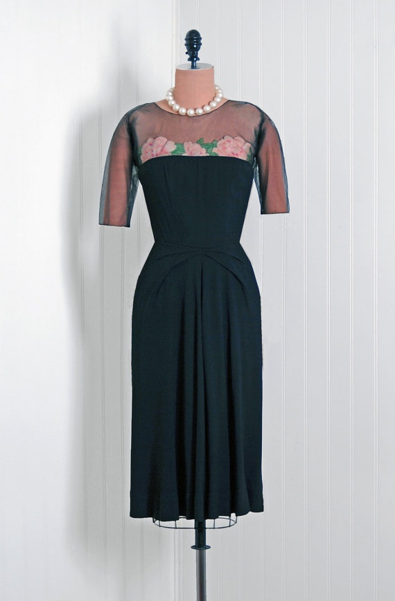 1940s Howard Greer Vintage Dress
