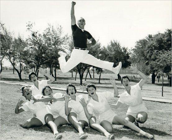 vintage cheerleading image