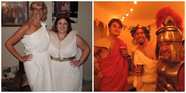 toga party costume ideas
