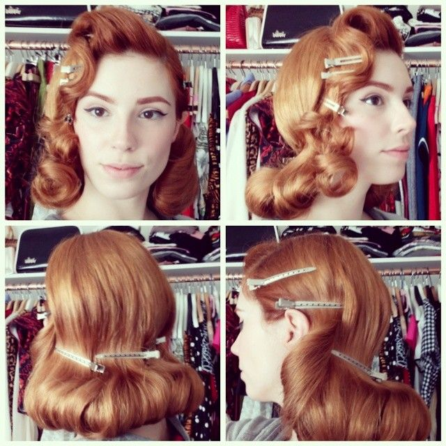 1950s Hairstyle tutorial