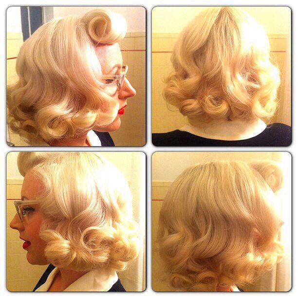 1950s vintage hair