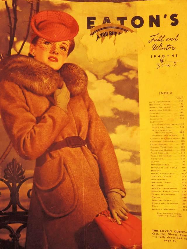 Eatons Catalogue 1940s 1941 Fall Winter