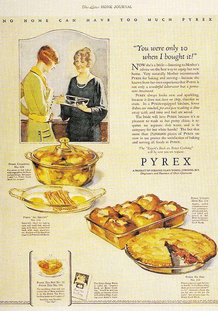 1920s vintage Pyrex Ad