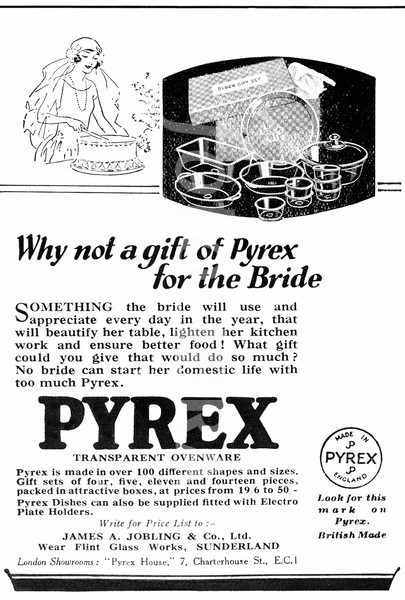 The Vintage Advertising of a 100 year old Brand-Pyrex