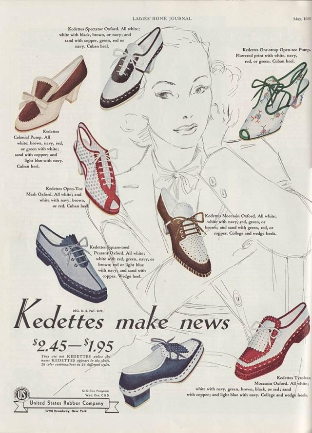 1939-Kedettes-Shoes vintage ad