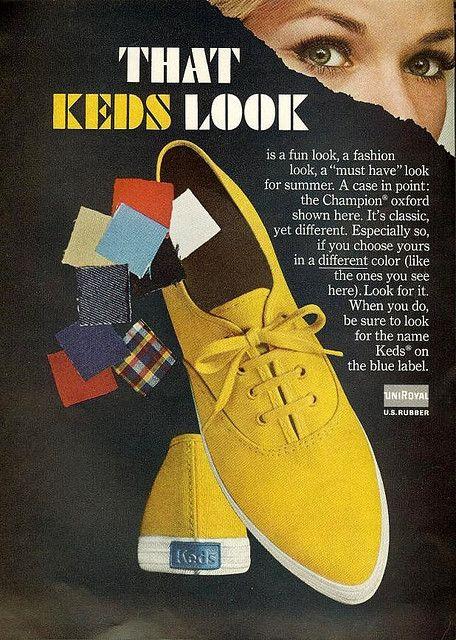 1960s Vintage Keds Ad2