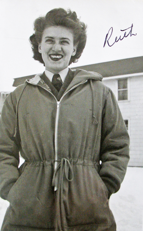 1940s Canadian Woman in Airforce
