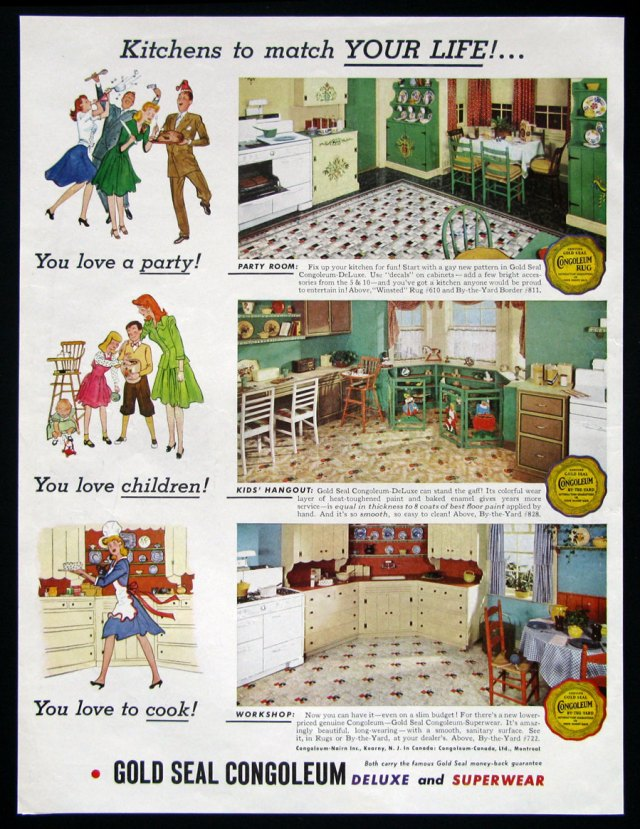 1940s kitchen decor