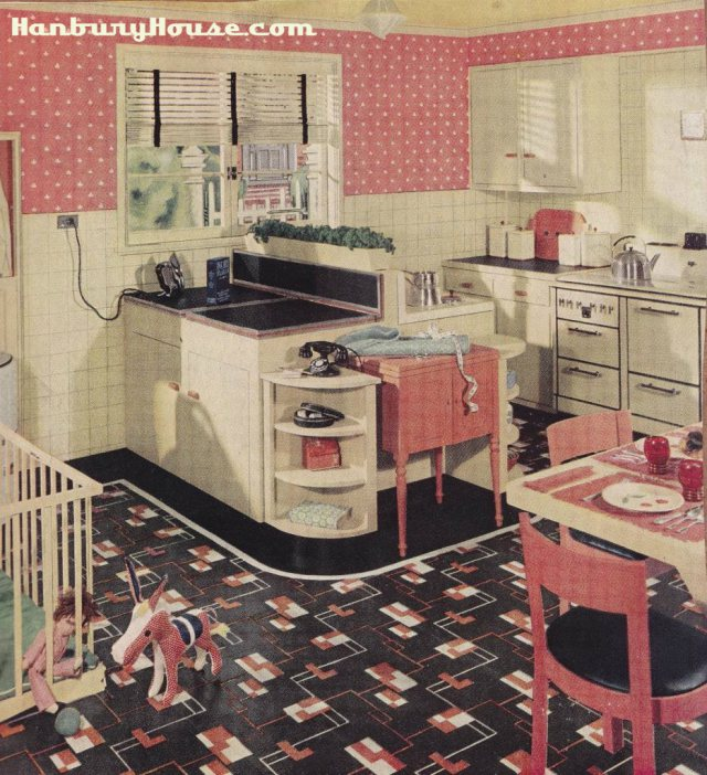 Armstrong 1940s Kitchen Design