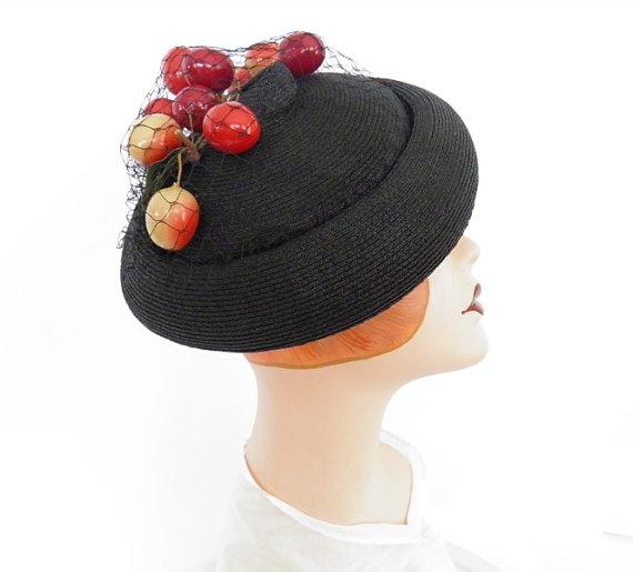 1940s tilt hat