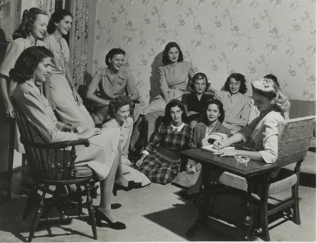 1940s vintage image