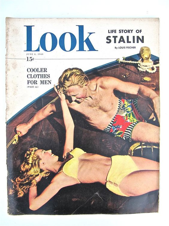 1948 vintage Look Magazine cover
