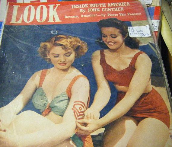 1941 Look Magazine vintage