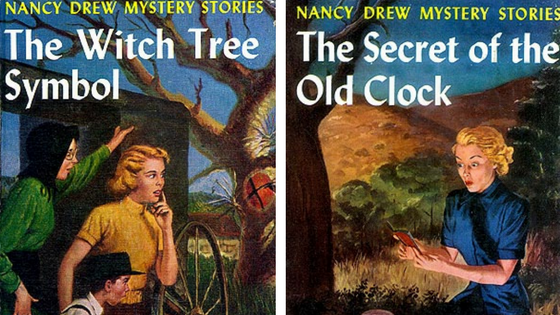Vintage Nancy Drew Covers